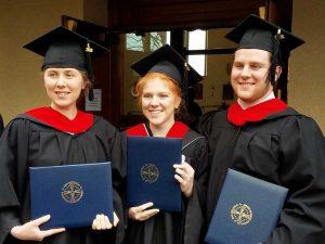 Associate of Arts Graduates at Holy Apostles