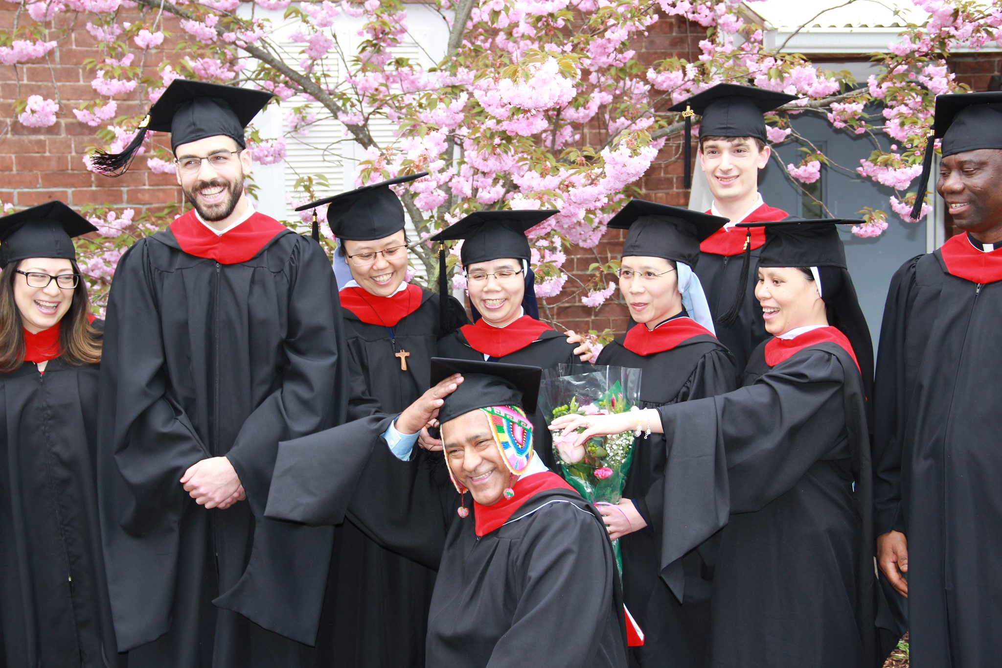 2019 graduates small group