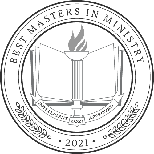 Award crest Masters in Ministry